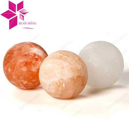 Viên massage đá muối hình cầu
